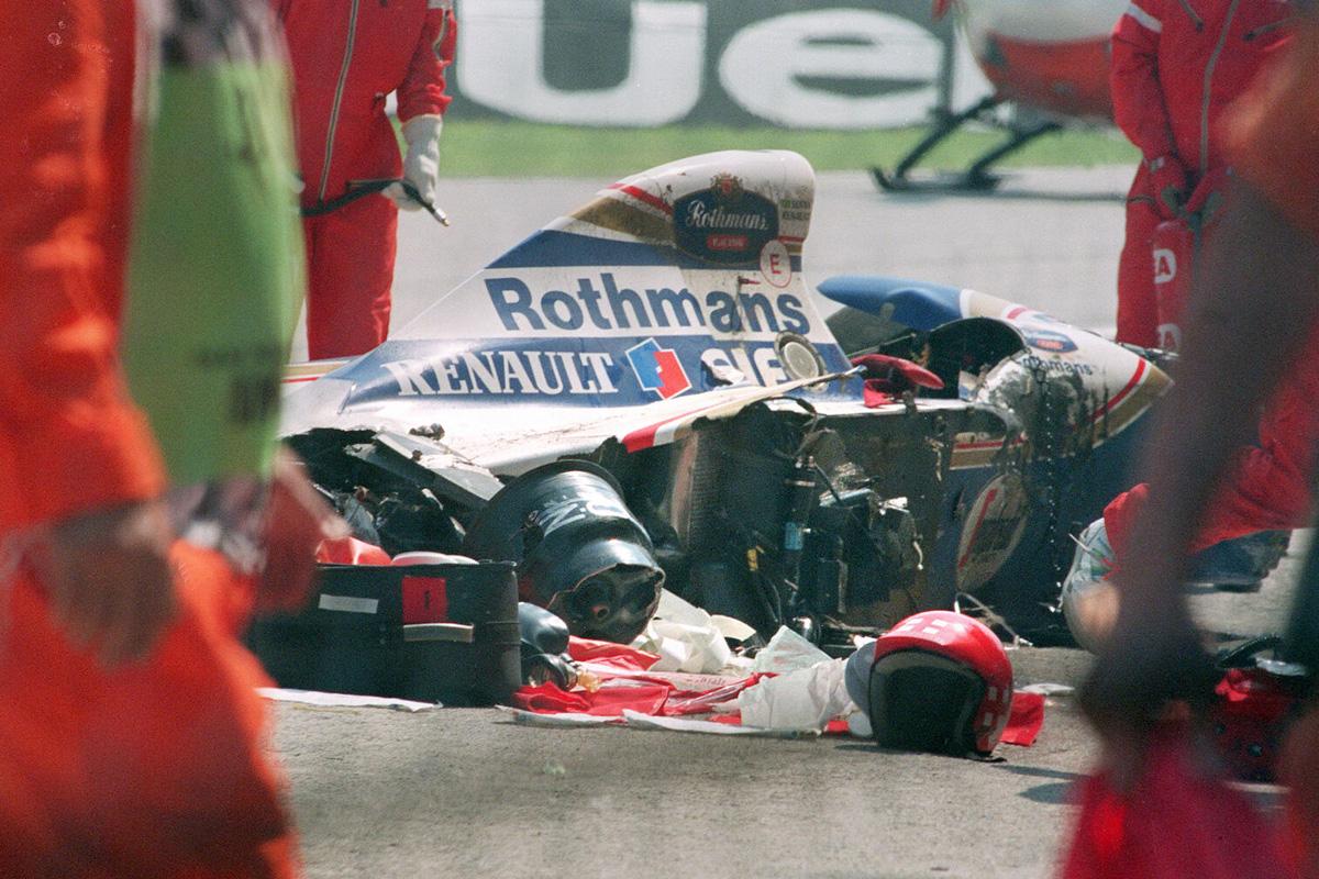 Ayrton Senna muerte y accidente