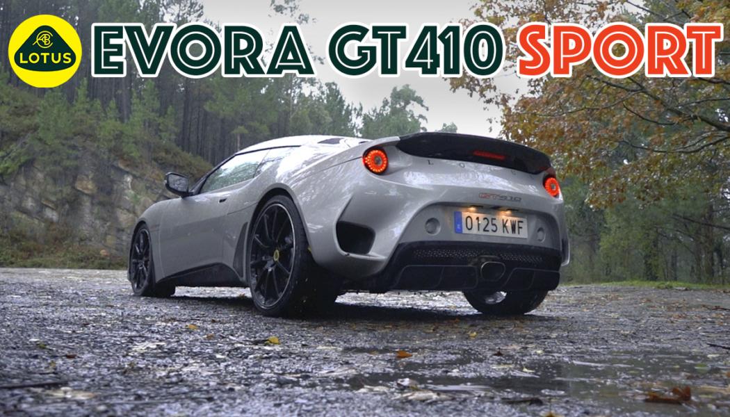 Lotus Evora GT410 Un GT Más Radical de lo Normal