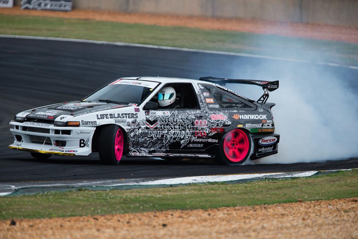 Toyota Sprinter Trueno Drift