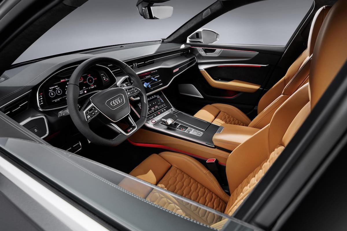 Audi RS6 Avant 2020 interior
