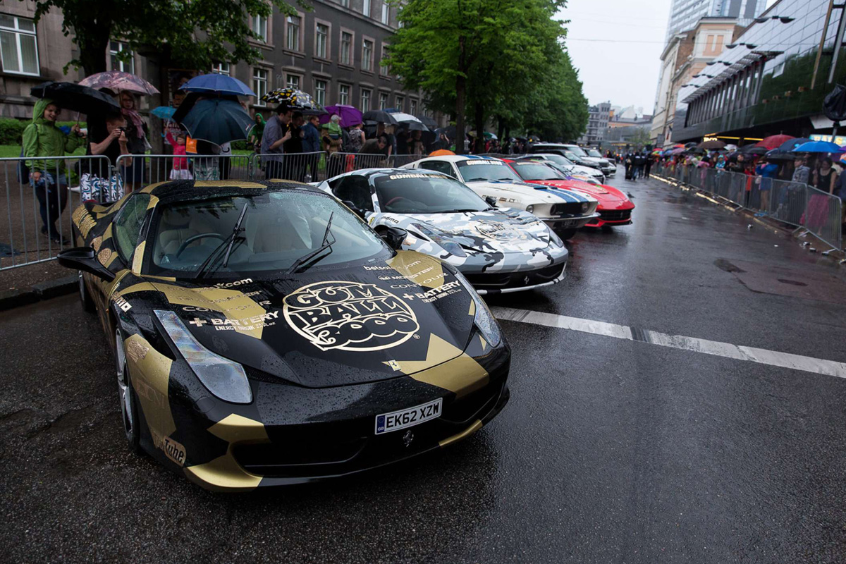 Gumball 3000-el rally de los coches de lujo