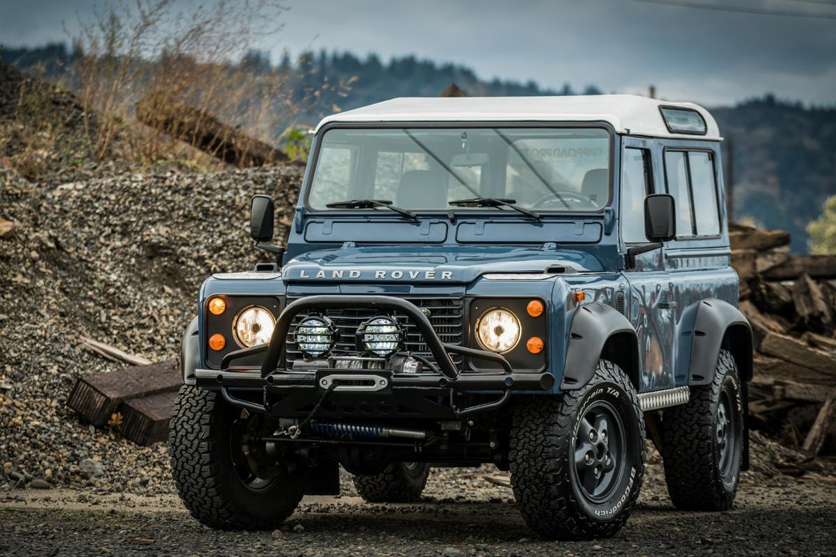 Land Rover Defender 90 Mejor 4x4 para campo