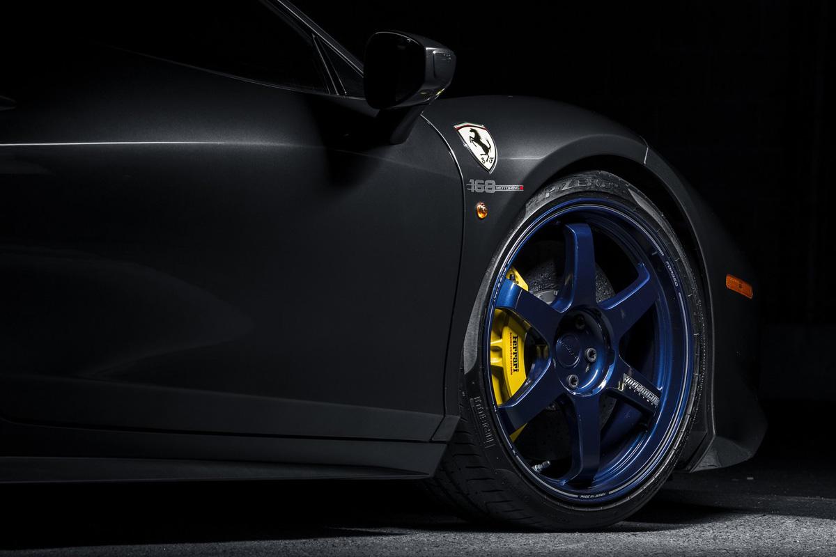 Llantas de aleación de magnesio (Volk Racing TE37)