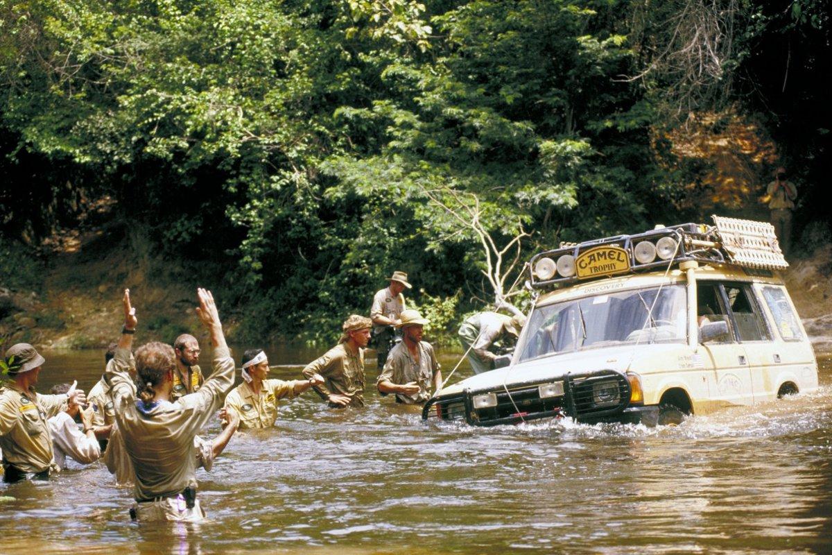 Land Rover y la Camel Trophy