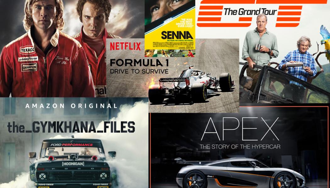 Las mejores series y películas de coches para ver esta cuarentena