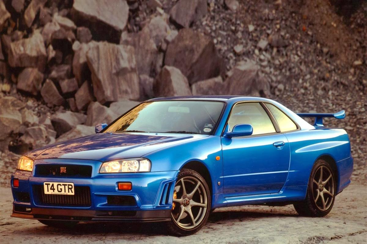 Nissan Skyline GTR R34 RB26DETT