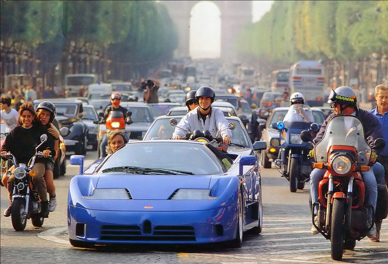 Bugatti EB110 GT Proto Paris 1991