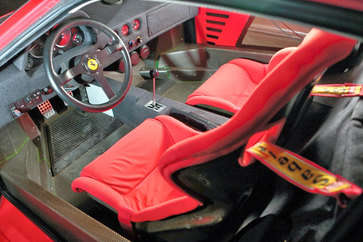 Ferrari-F40-Interior
