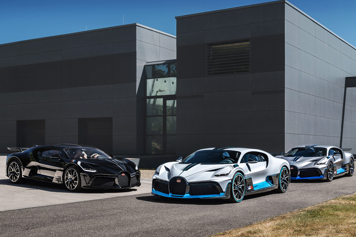 Bugatti-precios