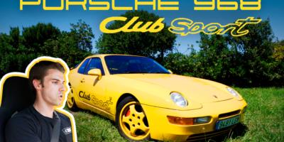 Porsche 968 Club Sport El Brutal Porsche Que No Conocias
