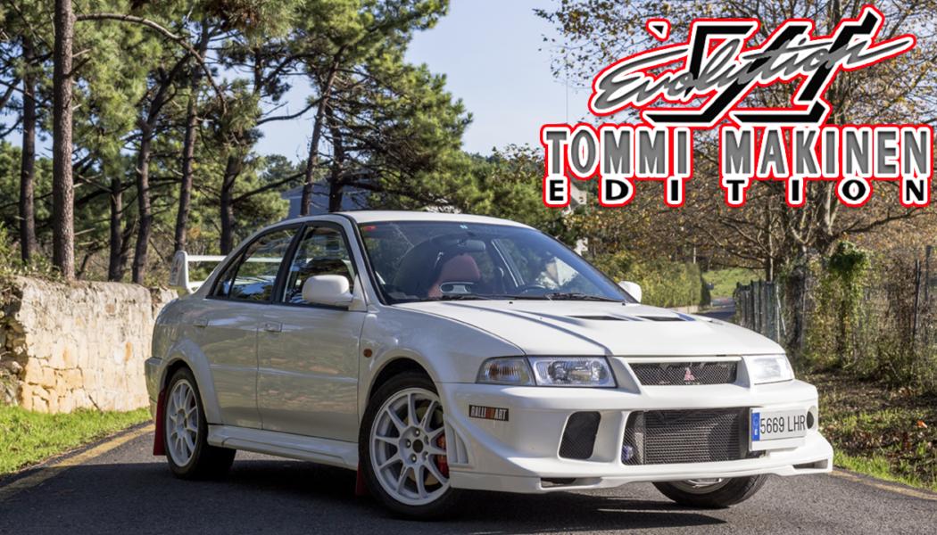 Mitsubishi Lancer Evolution Tommi Makinen Edition